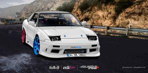Nissan 200sx s13 vector spec-edcgraphic by edcgraphic