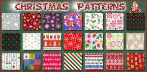 Christmas   Patterns Ps by Tetelle-passion