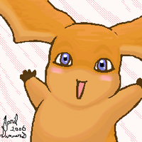 Patamon - Whee by MintyDreams7
