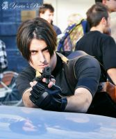 Leon S.Kennedy in action by SleepingLeonhart