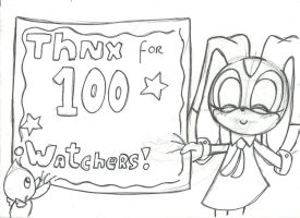 THNX FOR 100 WATCHERS! :D by LetBri