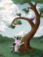 Collab: Up in a Tree by Pagerda