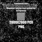 Texture 118 2000x2000 Stars Template by FrostBo