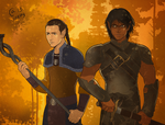 Alim and Jael by Autumn-Sacura