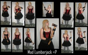 Mad lumber Jack by gsdark-stock