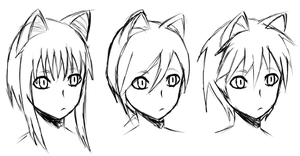Cat boy/girl concepts 1 by CodeOblivion