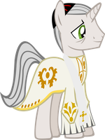 Bishop of Digne by Vector-Brony