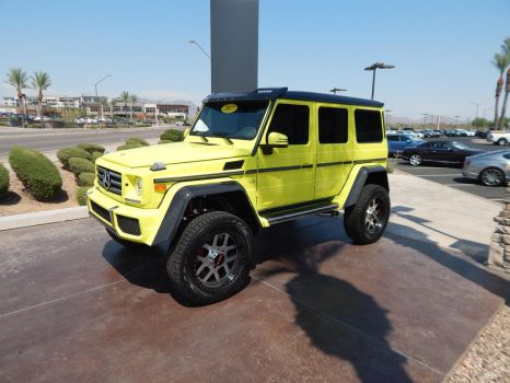 2017 Mercedes-Benz G550 4x4squared (Wheel Swapped) by TheHunteroftheUndead