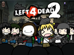 Walfas - Pewdiepie and Cry plays left 4 Dead 2 by grayfox5000