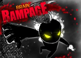 Brain Rampage Poster 3 by SrGrafo