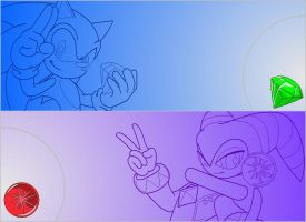Sonic-NiGHTS wallpapers by Zero20-2