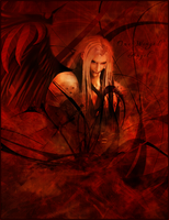 Sephiroth +One Winged Angel+ by XxSweet-NightmarexX