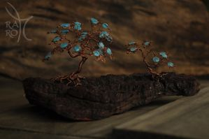 Twin Bonsai by NoriAnum