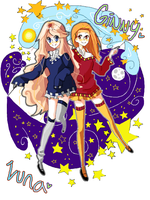 Ginny and Luna, Night and Day by Lootsie-Mae