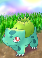 Bulbasaur by CleverConflict