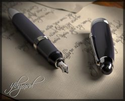 vintage pen by ifilgood