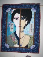 Changing Face of Japan Quilt by AppleJuiceJadeDear