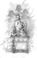 Lone wolf and Cub by justbuzz