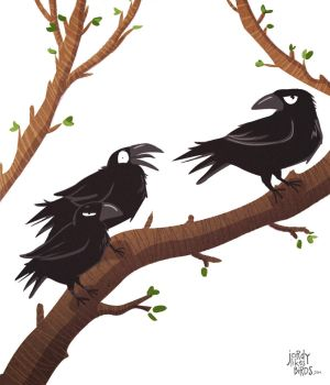 3 crows by milesmars