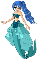 mermaid princess bluebell by golden-fantasy-voice