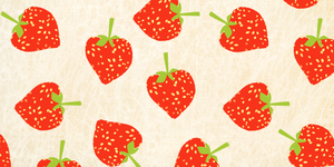 Strawberries .background. by scribblin