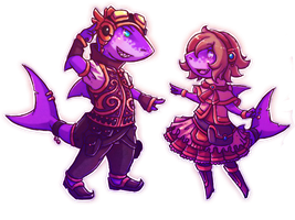 Random Chibis by Astral-Requin