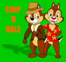 Chip 'N Dale by CaseyDecker