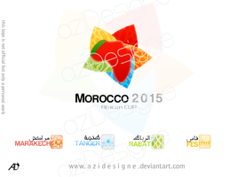 Morocco 2015 can by aziDesigne