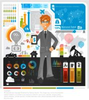 Business Infographic by kapreski