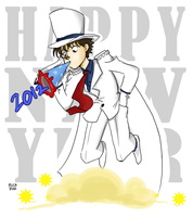 HAPPY NEW YEAR - Kaito by vanipy05