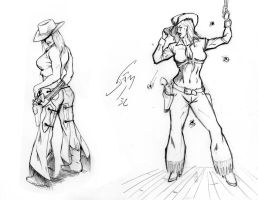 Cowgirls by JAM32