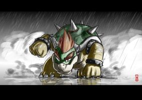 King Koopa-Speed paint by TheKid221