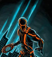 Tron by chocolatetater-tot