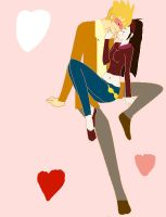 kxk  an awsome  kiss by Lilychan6