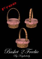 pretty pink baskets by kayshalady