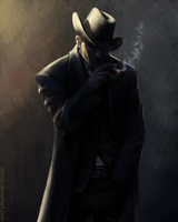 Commission: Detective by chirun