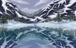 Snowy Mountains by Anomynousness