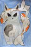 Koi Ghost Cat by BengalTiger4