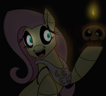 Animatronic Fluttershy by Bluerainbow01