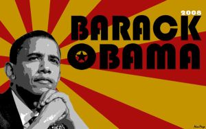 Obama 1440x900 background by alecpage