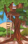-AT- Charlie's Treehouse by EmzieTowers