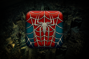 Spider man Icon by 4Roy