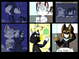 Commission: Comic by SmilehKitteh