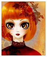 Red Porcelaine by Sugarthemis