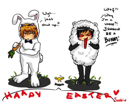 Happy Easter 2010 XD by Suobi-chan