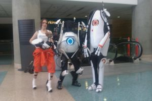 AX-Portal cosplayer group by Inkblot-Rabbit