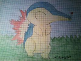Cyndaquil by pandaparty666