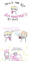 Heechul's Birthday - Aging Princess by MyDearKyoKun