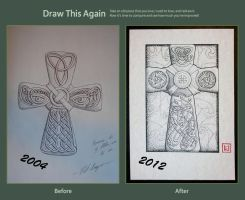 Draw Again Challenge - Celtic Cross by one-rook