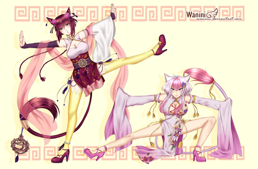 CM - Iaru Fanclub feating Lin Yao and Lei Lan by Wanini